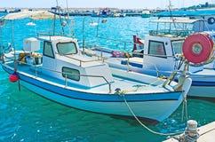 O barco velho Fotografia de Stock