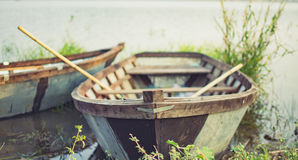 O barco velho fotos de stock royalty free