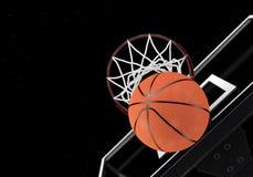 O basquetebol 3D ajustou 1 Imagens de Stock Royalty Free
