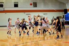 O basquetebol das mulheres do NCAA Foto de Stock Royalty Free