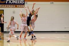 O basquetebol das mulheres do NCAA Foto de Stock