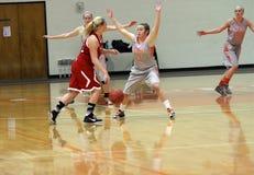 O basquetebol das mulheres do NCAA Fotos de Stock