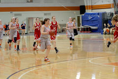 O basquetebol das mulheres do NCAA Imagem de Stock