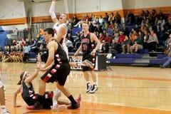 O basquetebol dos homens do NCAA Fotografia de Stock
