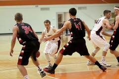O basquetebol dos homens do NCAA Foto de Stock Royalty Free