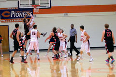 O basquetebol dos homens do NCAA Fotografia de Stock Royalty Free