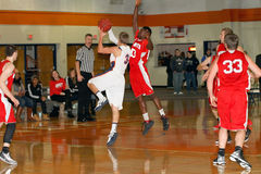 O basquetebol dos homens do NCAA Imagens de Stock Royalty Free
