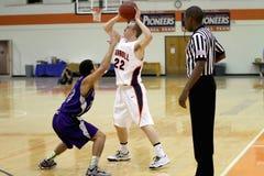 O basquetebol dos homens do NCAA Imagem de Stock Royalty Free