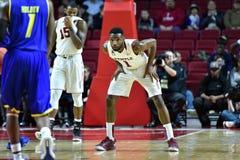 2015 o basquetebol dos homens do NCAA - Delaware no templo Foto de Stock