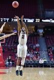 2014 o basquetebol dos homens do NCAA - TEMPLO contra LIU Fotos de Stock