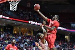 2015 o basquetebol dos homens do NCAA - Templo-Houston Imagem de Stock Royalty Free