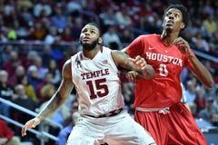 2015 o basquetebol dos homens do NCAA - Templo-Houston Fotografia de Stock Royalty Free