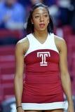 2015 o basquetebol dos homens do NCAA - Templo-Tulsa Imagens de Stock Royalty Free