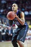 2015 o basquetebol dos homens do NCAA - Templo-Tulsa Fotos de Stock Royalty Free