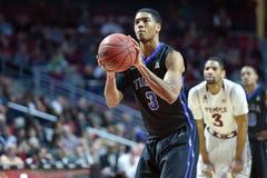 2015 o basquetebol dos homens do NCAA - Templo-Tulsa Imagens de Stock