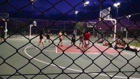 O basquetebol na noite filme