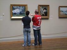 O batente longo em uma pintura favorita Imagem de Stock Royalty Free