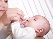 O bebê Fotografia de Stock Royalty Free