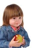 O bebê come Imagens de Stock Royalty Free