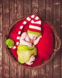 O bebê recém-nascido fotografia de stock royalty free