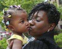 O beijo Imagem de Stock
