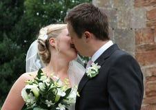 O beijo Imagens de Stock