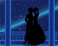 Amor e felicidade do cometa Imagens de Stock