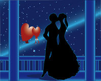 Amor do cometa Imagem de Stock