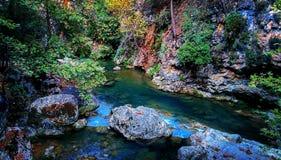 O beira-rio Fotos de Stock Royalty Free