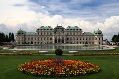 O Belvedere em Viena Fotografia de Stock