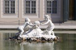 O Belvedere. Jardim do `s do palácio. fotografia de stock royalty free