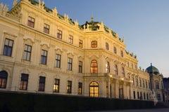 O Belvedere superior em Viena, Áustria foto de stock