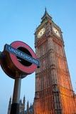O Ben grande, Londres, Reino Unido. Imagens de Stock