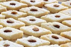 O bengali doce indiano cozinhou o sandesh Foto de Stock