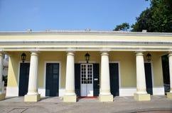O Biblioteca situado em Taipa, Macau Imagem de Stock Royalty Free