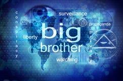 O big brother está olhando-o Fotografia de Stock Royalty Free