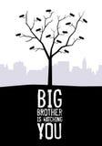 O big brother está prestando-lhe atenção Fotografia de Stock Royalty Free