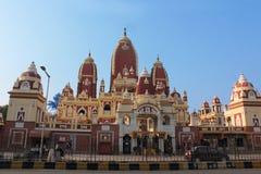 O Birla requintado Mandir no Sandstone vermelho Imagens de Stock Royalty Free
