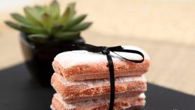 O biscoito aumentou de Reims Imagens de Stock