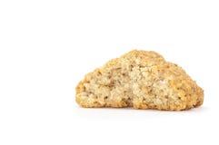 O biscoito com migalhas em cima vê Fotos de Stock Royalty Free