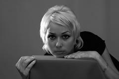 O blonde Imagens de Stock