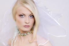 O blonde novo bonito Imagem de Stock