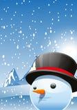 o boże narodzenie więcej człowiek śniegu jest nowy rok Zdjęcia Stock