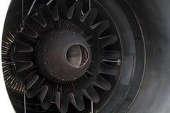 O bocal de exaustão do motor de aviões do jato Imagens de Stock