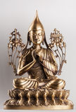 O Bodhisattva Avalokiteshvara fez do bronze Fotografia de Stock Royalty Free