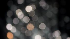 O bokeh abstrato ilumina o fundo video estoque