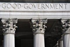 O bom governo Fotografia de Stock