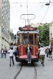 O bonde de Taksim em Istambul em Turquia Imagens de Stock Royalty Free