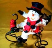 O boneco de neve imagem de stock