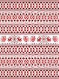 O bordado tradicional russian Imagem de Stock